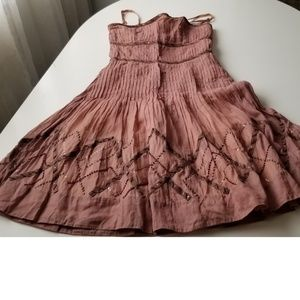 Anthro. Elevenses Isca Organdy dress